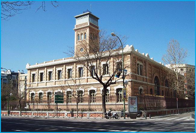 Casa Árabe. Escuelas de Aguirre