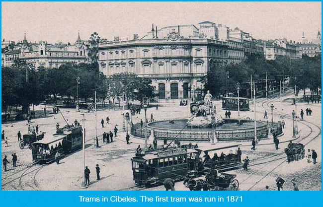 Trams in Madrid