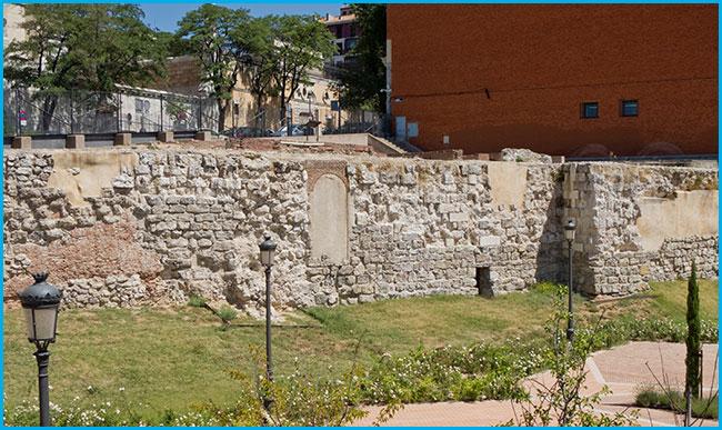 muralla musulmana Madrid