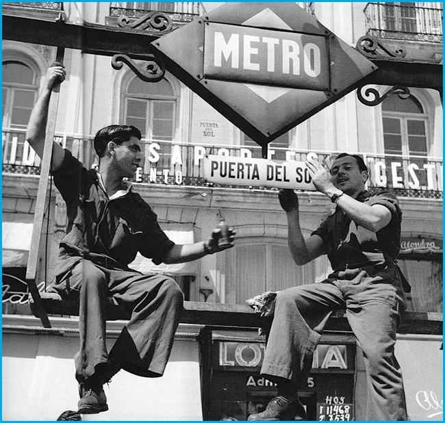 Madrid, un día de 1955