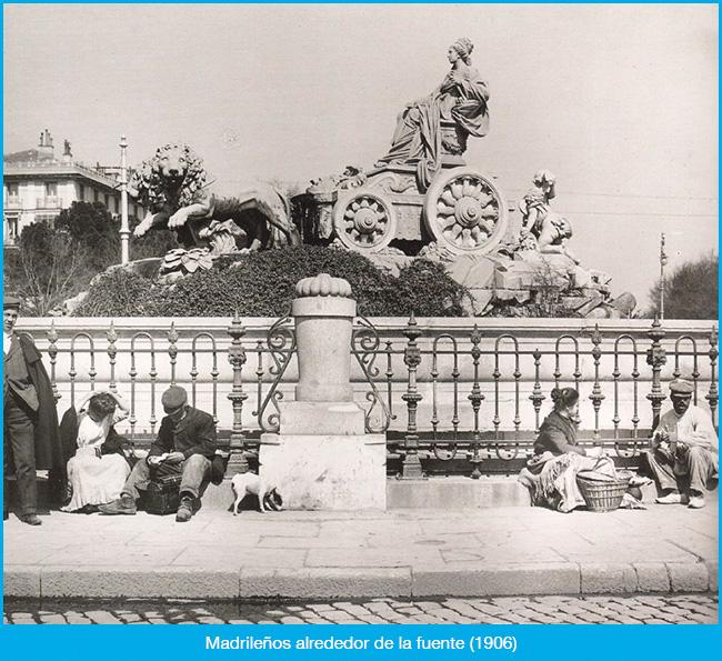 El pasado de la Plaza de Cibeles
