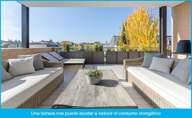 La importancia de una terraza