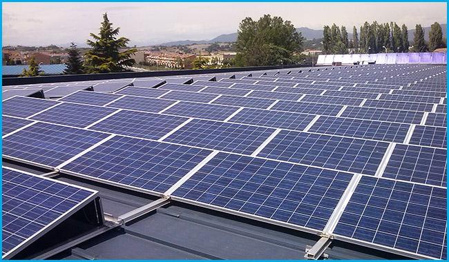 solar panels in Madrid