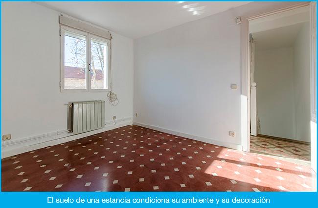 El suelo también decora