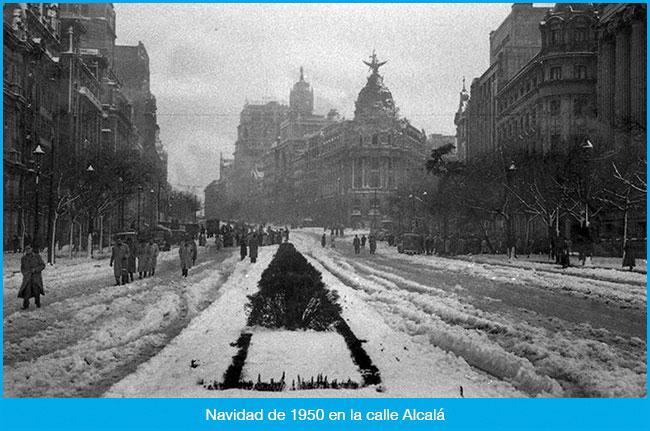 Ya está muy cerca la Navidad, y hoy proponemos un viaje en el tiempo para recordar cómo se vivían estas fechas en Madrid décadas atrás.