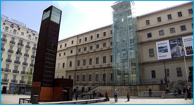 The reina Sofía Museum
