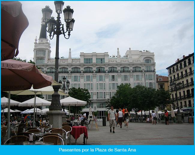 La Plaza de Santa Ana