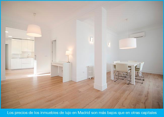 Madrid, liderando el sector inmobiliario del lujo