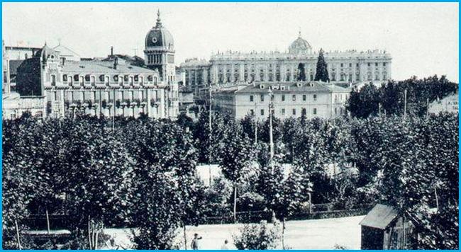 Plaza de España, corazón de Madrid