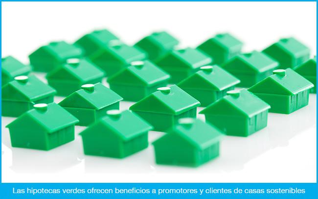Hipotecas verdes para casas sostenibles