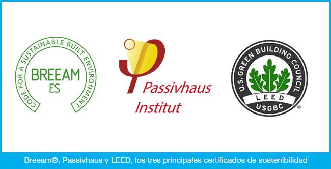 Certificados que miden la sostenibilidad de un edificio