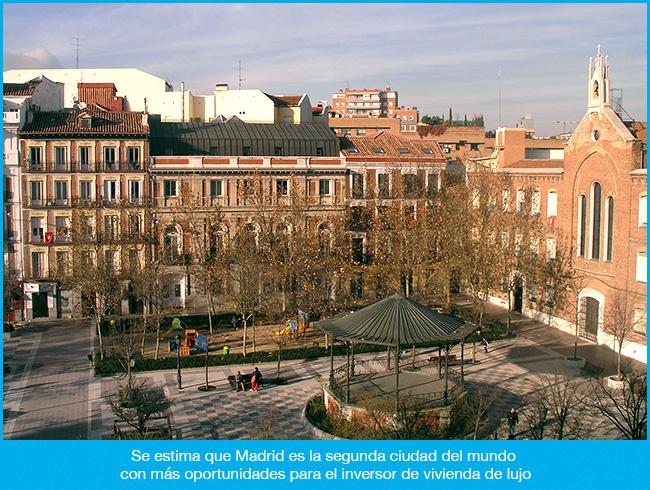 A la vivienda de lujo le gusta Madrid