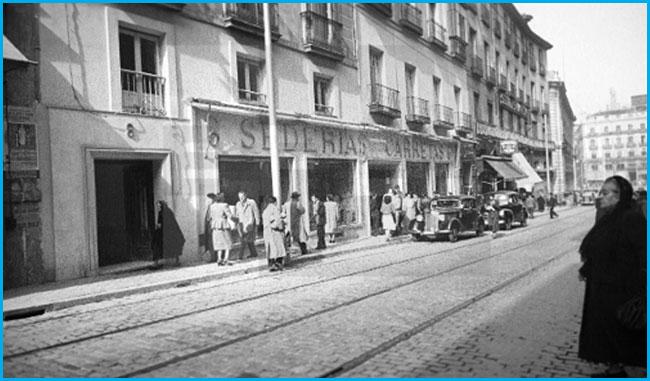 Calle de Carretas, corazón de Madrid
